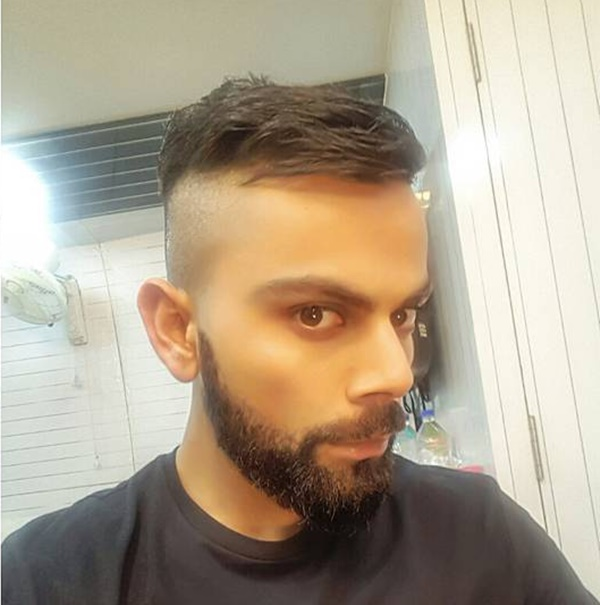 Rediff Cricket - Indian cricket - PIX: Virat Kohli has got all angles covered!