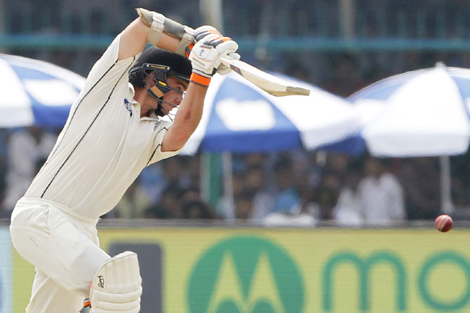 Rediff Cricket - Indian cricket - Stats: INTERESTING numbers from Kanpur Test, Day 2