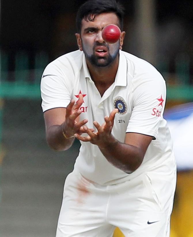 Rediff Sports - Cricket, Indian hockey, Tennis, Football, Chess, Golf - Number crunching: Ashwin sets new highs