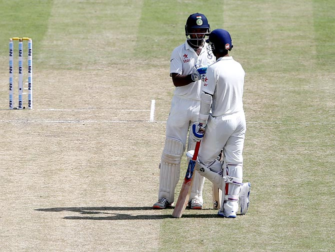 Rediff Cricket - Indian cricket - Stats: The rise of Rahane and Pujara vs New Zealand