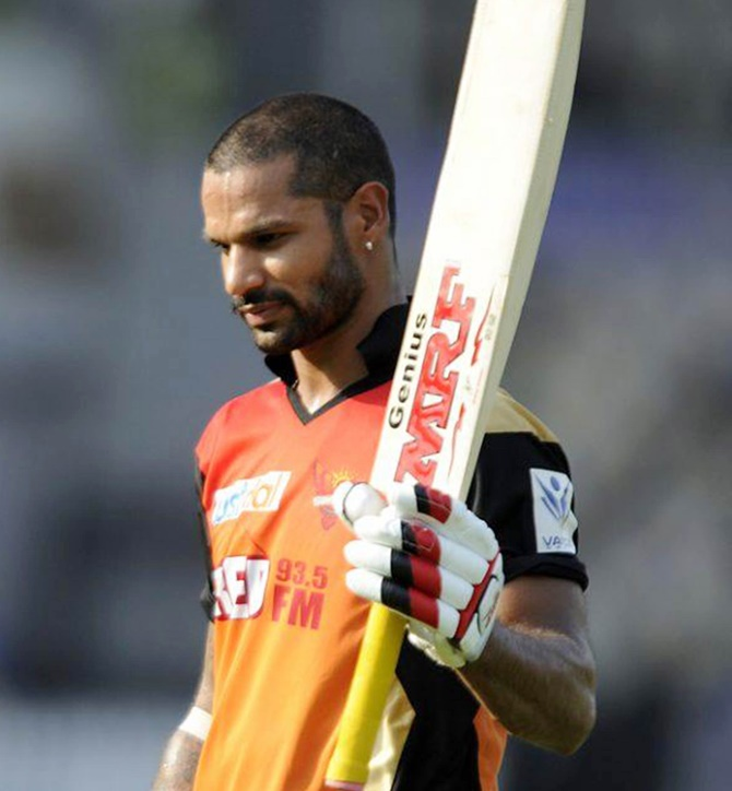 Dhawan felt sad over not being part of the Indian team ...