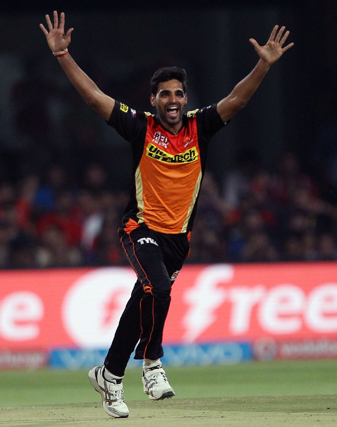 Sunrisers Hyderabad coach Tom Moody says: 'Bhuveshwar Kumar is one of the leading bowlers in world cricket today'