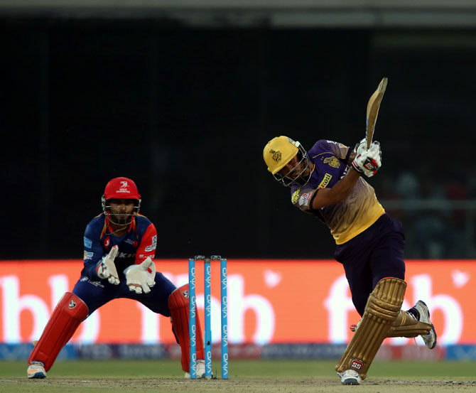 Rediff Cricket - Indian cricket - IPL PHOTOS: Pandey, Pathan guide KKR to thrilling win