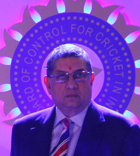 Rediff Cricket - Indian cricket - Srinivasan cannot represent BCCI in ICC meeting, says Supreme Court