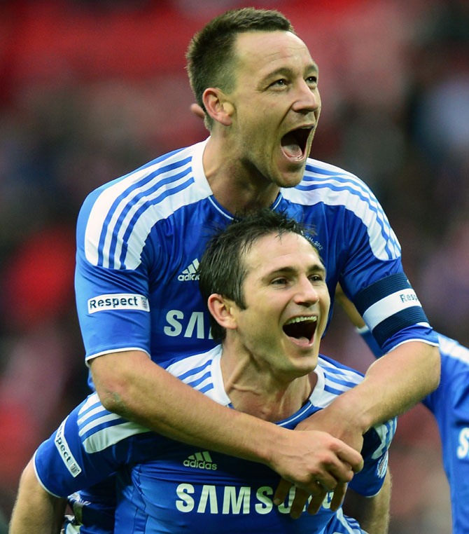 Lampard lauds Terry as greatest Premier League defender