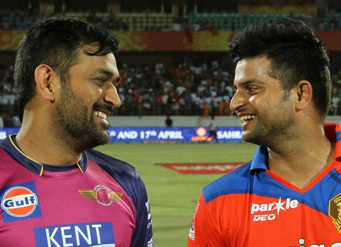 Rediff Cricket - Indian cricket - Dhoni should be respected, his removal as Pune captain disappointing: Raina