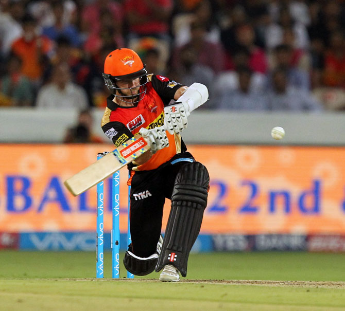Rediff Cricket - Indian cricket - Classy Williamson stands out amid IPL binge-hitting