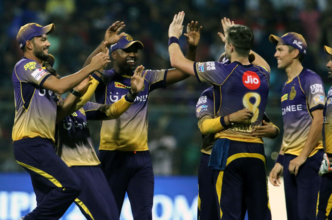 Rediff Cricket - Indian cricket - IPL: In-form KKR look to add to Gujarat's misery