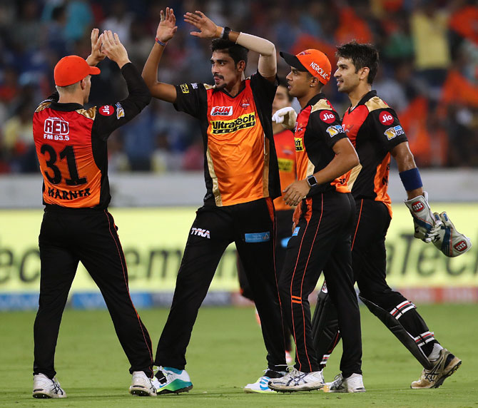 Rediff Cricket - Indian cricket - What makes champions Sunrisers such a dangerous side