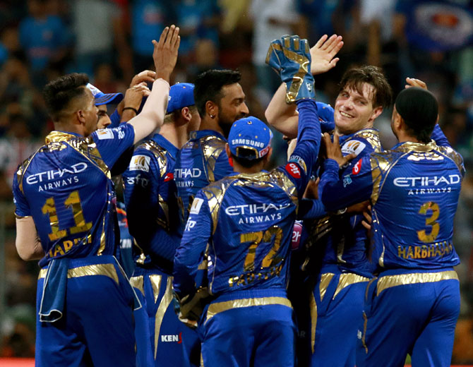 Rediff Cricket - Indian cricket - When bowlers won the match for Mumbai Indians