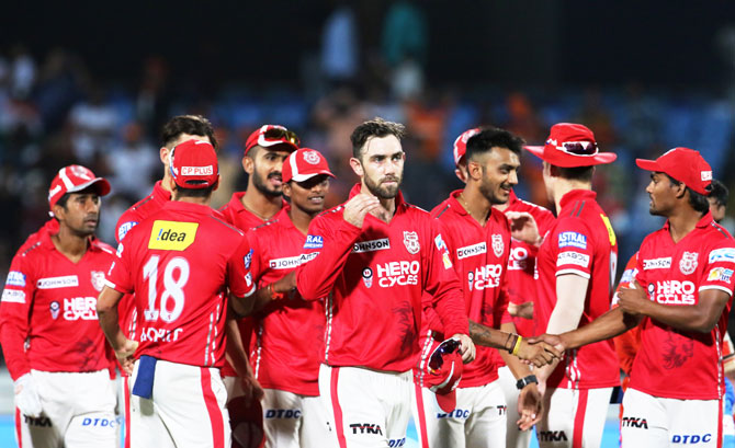 Rediff Sports - Cricket, Indian hockey, Tennis, Football, Chess, Golf - IPL PHOTOS: Amla, bowlers star as Kings XI Punjab tame Gujarat Lions
