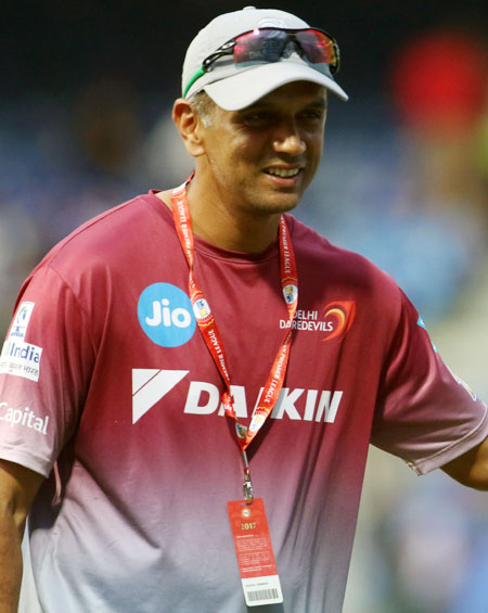 Rediff Cricket - Indian cricket - Coach Dravid defends Delhi youngsters despite recent failures