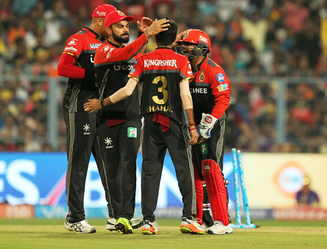 Rediff Cricket - Indian cricket - RCB desperate for redemption after shambolic show at Eden Gardens