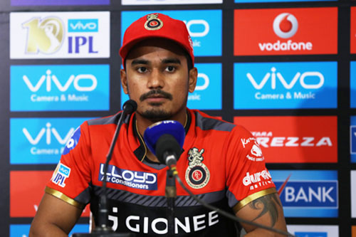 Rediff Cricket - Indian cricket - Was pitch and rain responsible for RCB's batting collapse?