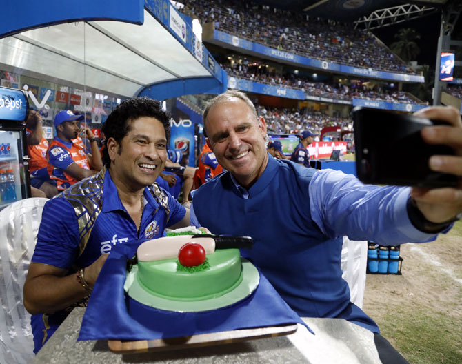 Birthday Cake Images Sachin : A Birthday, a Record and a Nail-biter On Day 20 at the IPL ...