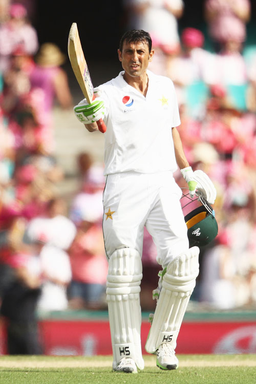 Rediff Cricket - Indian cricket - Younis Khan becomes first Pakistani and oldest to score 10000 Test runs