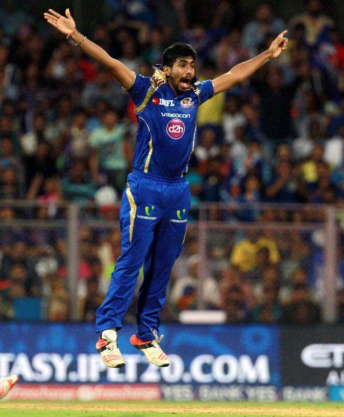 Rediff Cricket - Indian cricket - ''World class' Bumrah a good bowler in all formats'