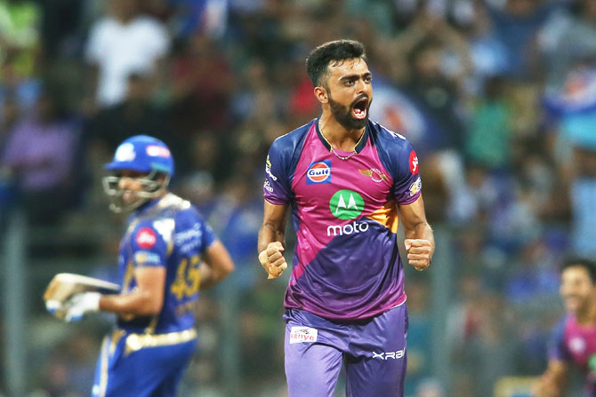 Rediff Sports - Cricket, Indian hockey, Tennis, Football, Chess, Golf - IPL: How Pune Supergiant did Mumbai in at the Wankhede