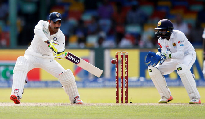 Rediff Cricket - Indian cricket - 2nd Test: Batsmen put India in the driver's seat in Colombo