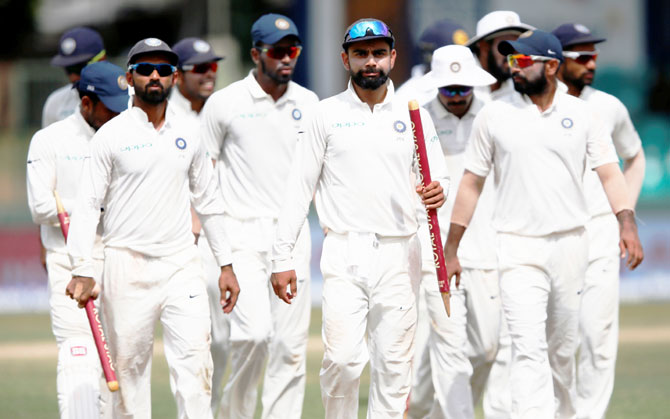 Rediff Cricket - Indian cricket - India outplay Sri Lanka in Colombo Test to take 2-0 series lead
