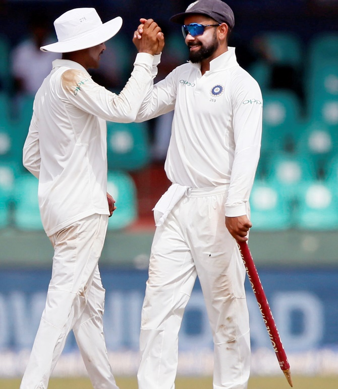 Rediff Sports - Cricket, Indian hockey, Tennis, Football, Chess, Golf - Kohli's Super Stats from Colombo Test