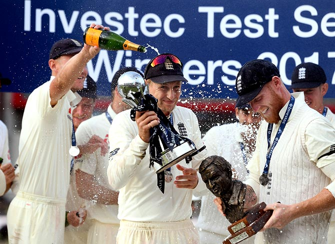 Rediff Cricket - Indian cricket - Why England are favourites to win Ashes Down Under