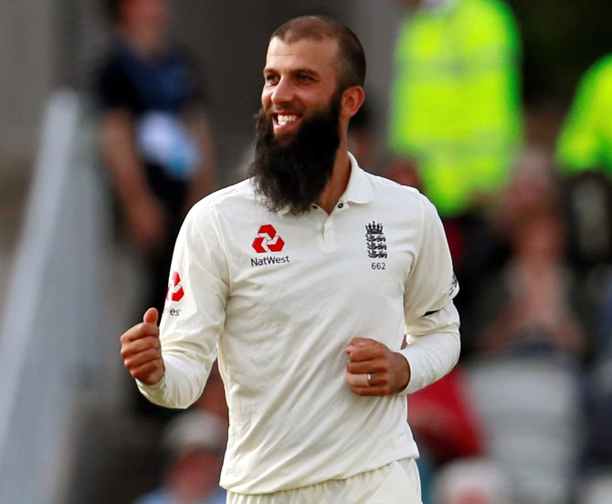 Rediff Cricket - Indian cricket - All-rounder Moeen leads England to series victory