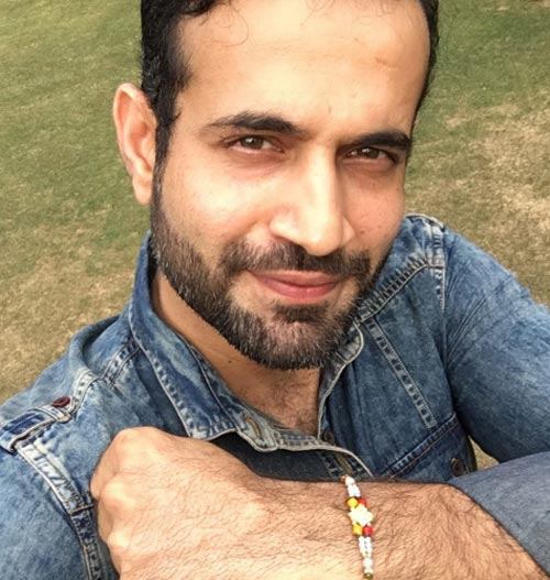 Rediff Cricket - Indian cricket - Irfan Pathan trolled again... this time for celebrating Raksha Bandhan