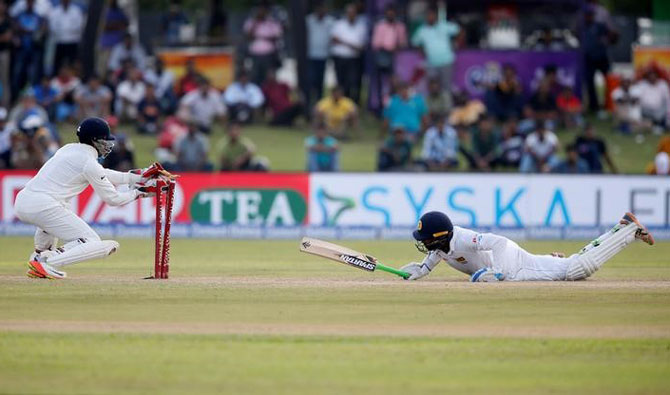 Rediff Cricket - Indian cricket - Bounce, spin but Saha's safe-as-a-pocket hands have India covered