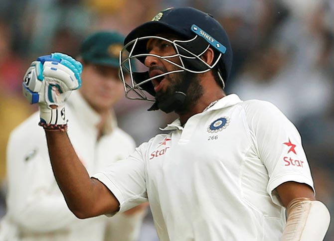 Rediff Cricket - Indian cricket - Why Pujara is learning the tricks of sledging