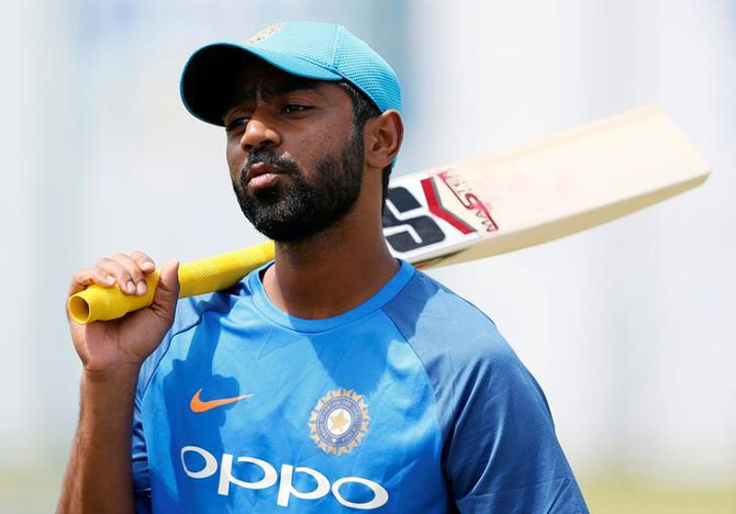 India's Abhinav Mukund had played the first Test against Sri Lanka in Galle