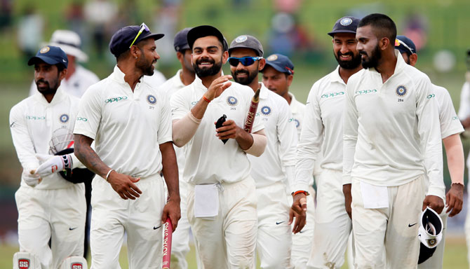 Rediff Cricket - Indian cricket - Matches not lasting five days but Kohli not sceptical about Test future