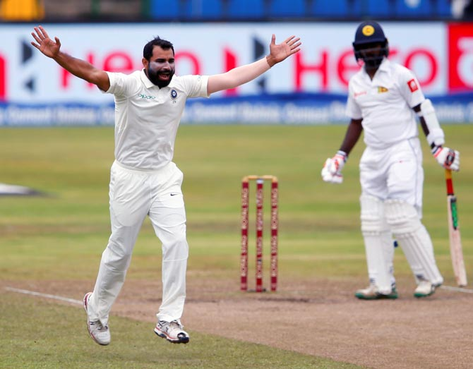 Rediff Cricket - Indian cricket - Kohli sings litany of praises for 'valuable' Shami