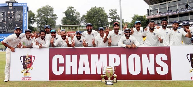 Rediff Cricket - Indian cricket - How Team India fared in Sri Lanka