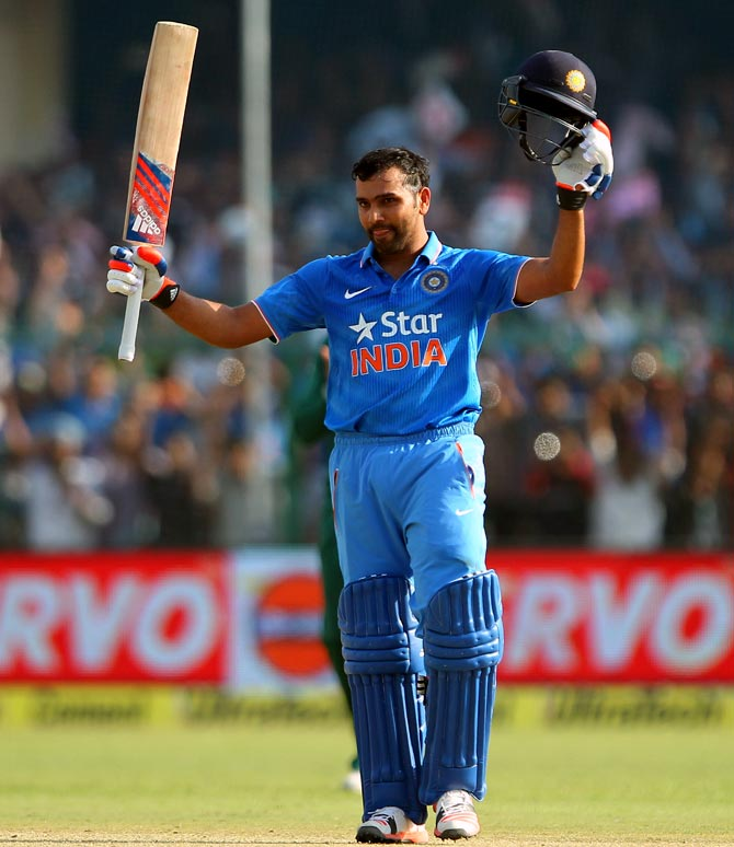 Rediff Cricket - Indian cricket - Rohit looking forward to new role with Team India