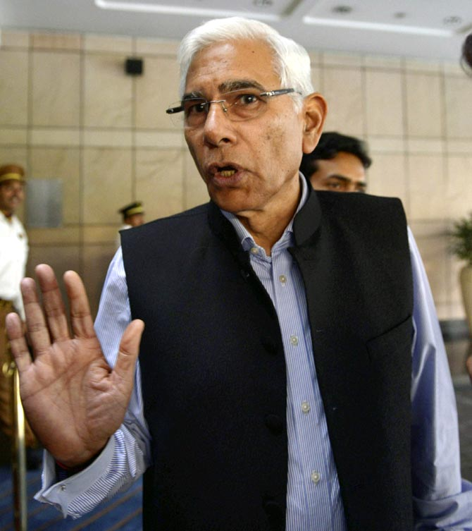 Rediff Cricket - Indian cricket - Sack BCCI president, secretary, treasurer: COA tells Supreme Court