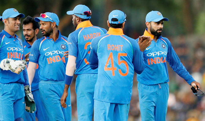Rediff Cricket - Indian cricket - Embracing experimentation as India target 2019 World Cup