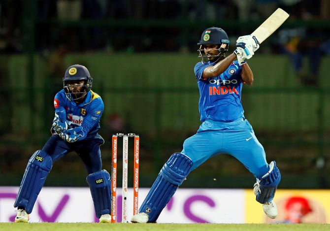 Rediff Cricket - Indian cricket - 2nd ODI: Interesting stats from the humdinger in Pallekele