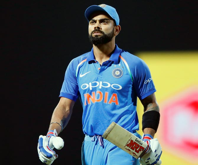 Rediff Sports - Cricket, Indian hockey, Tennis, Football, Chess, Golf - With series win at stake, should Kohli opt to bat first at toss?