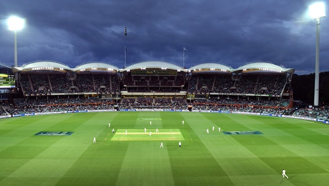 The scenic Adelaide Oval