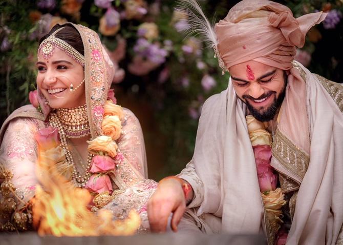 11virat anu2 - Virushka wedding photos: Virat and Anushka are now official!