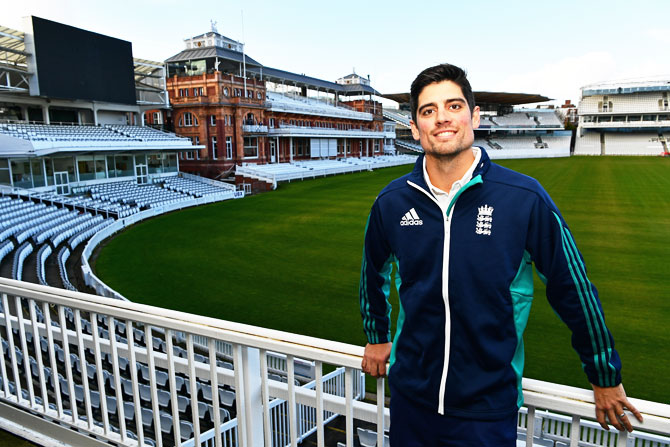 Rediff Cricket - Indian cricket - Departing England captain Cook says 'new voice' was needed