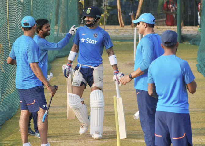 Rediff Cricket - Indian cricket - India still to decide on batting combination, says Kumble