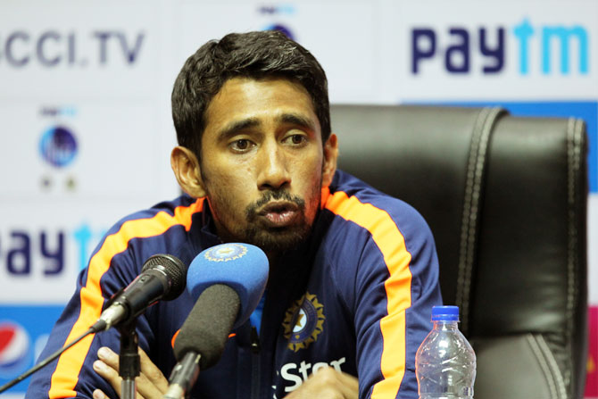 Wriddhaman Saha says India has a strong bench strength, which is a good way for India to prepare going forward