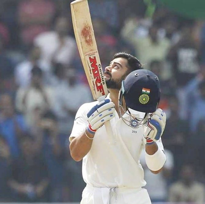 Rediff Cricket - Indian cricket - Stats: The amazing Kohli in numbers