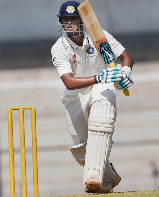 Rediff Cricket - Indian cricket - 4th Test: Shreyas Iyer called up as cover for Kohli