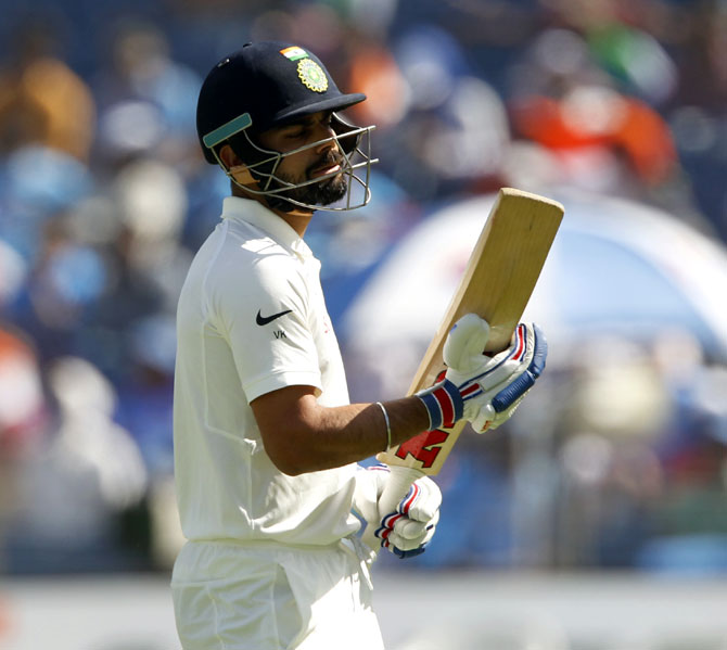 Rediff Cricket - Indian cricket - Stats Pack: Virat Kohli's 'Duck Tales'
