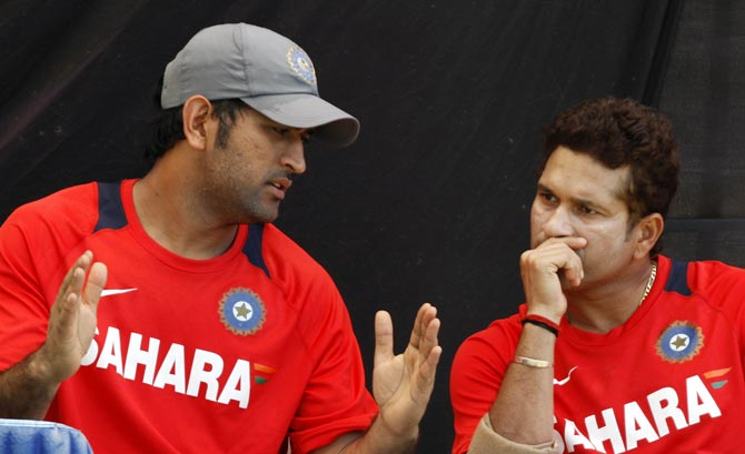 Tendulkar on Dhoni's 'wonderful career as a captain'