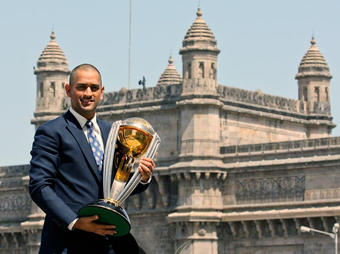 Rediff Cricket - Indian cricket - The highlights of Dhoni's captaincy