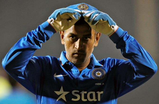 Mahendra Singh Dhoni says he does not regret anything in life